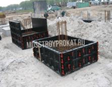 Аренда стеновой опалубки в Москве