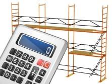 Калькулятор строительных лесов