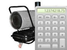 Калькулятор мощности тепловой пушки - фото