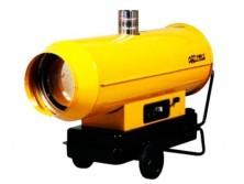 Дизельная тепловая пушка непрямого нагрева Oklima SE 300 (85 кВт) с отводом выхлопных газов в аренду и напрокат
