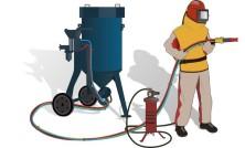 Как работает пескоструйное оборудование?