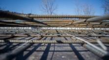 Прогрев бетона зимой - фото