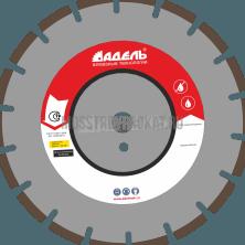 Ø300 диск по асфальту А 25 /40x3,2x6/ 18 сегм до 25 кВт Адель