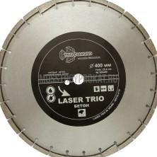 "Круг алмазный ""Trio-Diamond"" Segment Лазер Бетон 400х10х25,4 мм"