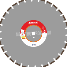 Алмазный диск ЖБ_30 / 500 мм / 30 сегм. / 40 х 5,0 х 12 Адель - фото