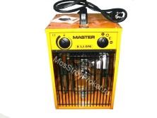 Электрический тепловентилятор (тепловая пушка) Master B 3.3 EPB (1.65-3.3 КвТ) - фото 13
