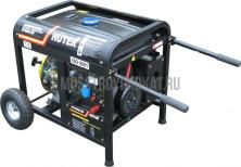 Бензиновый генератор Huter DY6500LXW - фото 2