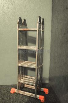 Лестница универсальная  3-секционная 10-ти метровая - фото 4