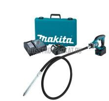 Высокочастотный аккумуляторный вибратор  для бетона Makita DVR450RFE - фото 3