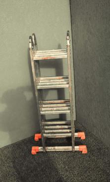 Лестница универсальная  3-секционная 10-ти метровая - фото 3