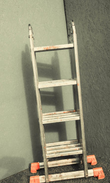 Лестница универсальная  3-секционная 10-ти метровая - фото 2