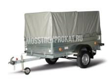 Прицеп одноосный трейлер 82942Т (внутренний размер кузова 2.37 х 1.14 х 1.0 метра) в аренду и напрокат - фото