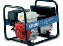 Бензиновый генератор Sdmo HX 6000 S (5.5 кВт) в аренду и напрокат - фото