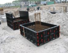 Панель  пластиковой опалубки в аренду и напрокат