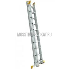 Лестница универсальная  3-секционная 10-ти метровая - фото