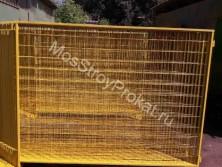 Ограждения металлические ИСО-2 (1.6 х 2 метра) в аренду и напрокат
