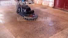 Шлифовка бетонных полов - фото