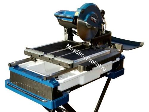 Плиткорез Элмос (Elmos) ETC-350 (длина стола 690 мм) в аренду и напрокат. Фото(1)