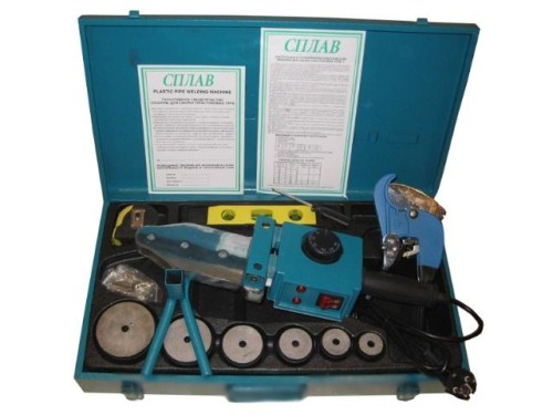 Аппарат для сварки полипропиленовых труб «Сплав А4» в аренду и напрокат. Фото(1)