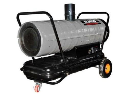 Дизельная тепловая пушка непрямого нагрева Elmos DH 253 (26 кВт) с отводом выхлопных газов в аренду и напрокат. Фото(1)