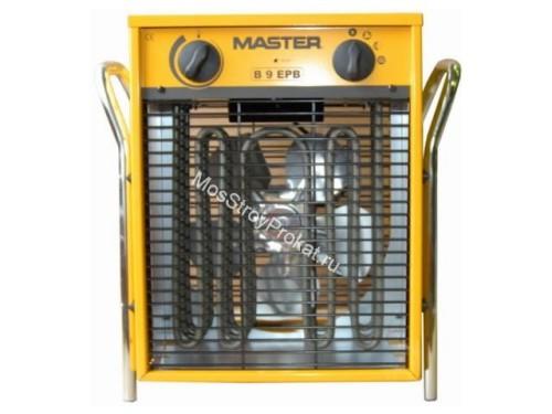 Электрическая тепловая пушка Master B 9 EPB (9-4.5 кВт, 380 В) в аренду и напрокат. Фото(1)