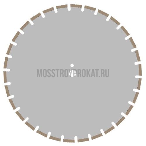 Алмазный диск Железобетон Профи Ø500×25,4 L Ниборит - фото 1