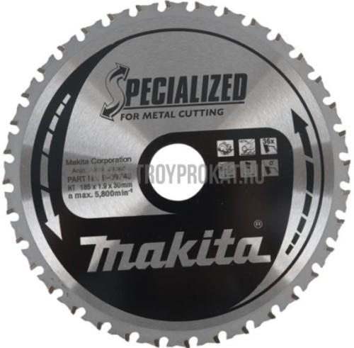 Пильный диск по металлу Z60 Makita B-29402 (305*25.4*2.4мм) - фото 1