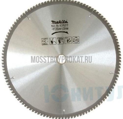 Диск пильный,ф355х25х3мм,120 ,для алюминия Makita - фото 1