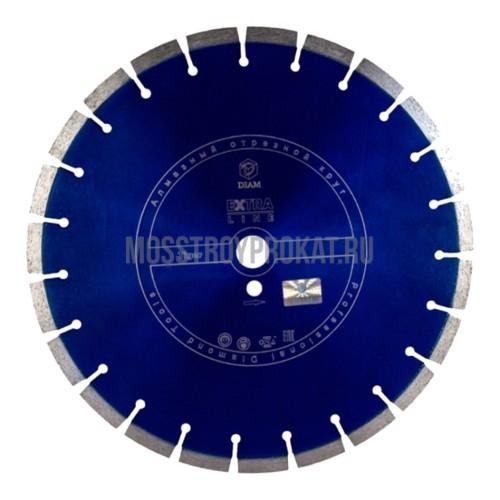 Круг алмазный DIAM Ф400x25.4мм Tiger Extra Line 3.4x12 мм - фото 1