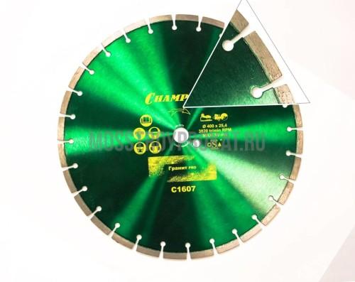 Круг алмазный CHAMPION ST 400/25.4/10 Concremax - фото 1