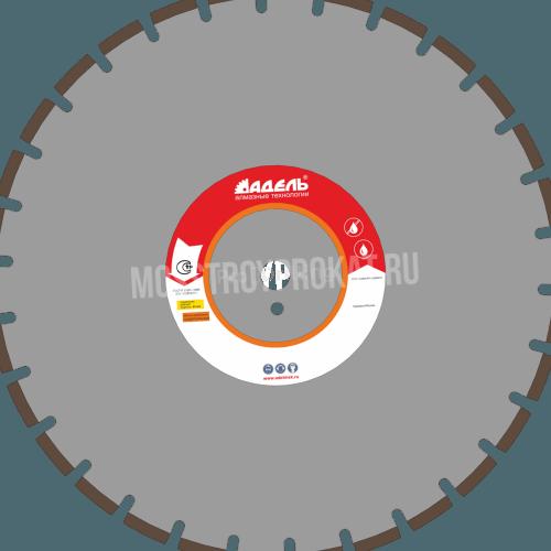 Алмазный диск ЖБ_30 / 500 мм / 30 сегм. / 40 х 5,0 х 12 Адель - фото 1