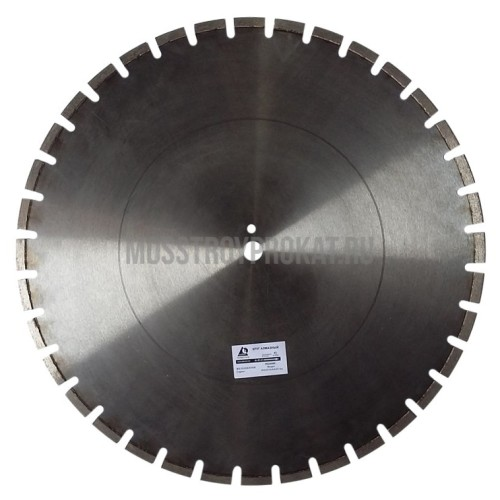Алмазный диск Железобетон Плита Ø600×25,4 Ниборит - фото 1