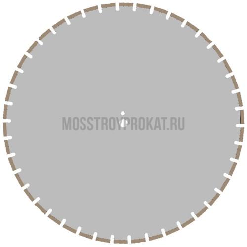 Алмазный диск Железобетон Плита Ø700×25,4 Ниборит - фото 1