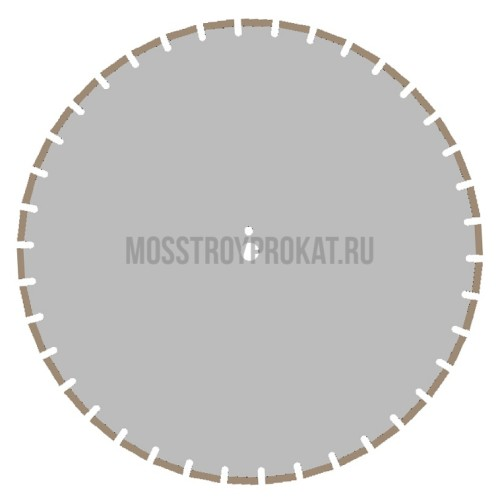 Алмазный диск Железобетон Плита Ø650×25,4 Ниборит - фото 1