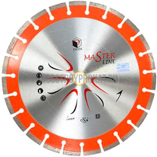 Круг алмазный DIAM Ф400x32/25.4мм Master Line 3.0x10мм - фото 1