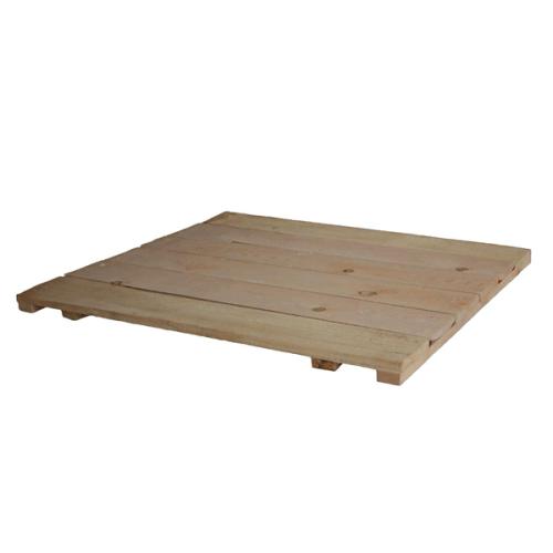 Настил деревянный 1/1 метр - фото 1