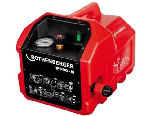 Опрессовочный насос электрический Rothenberger RP PRO-3 в аренду и напрокат - фото 1