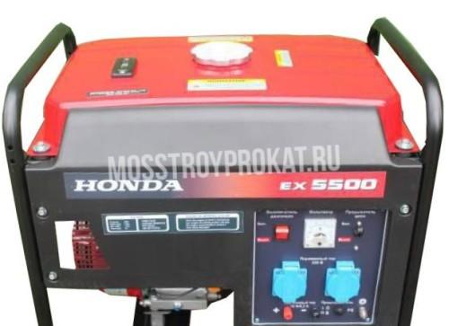 Бензиновый генератор Honda EX 5500 (2,2 кВт) в аренду и напрокат - фото 1
