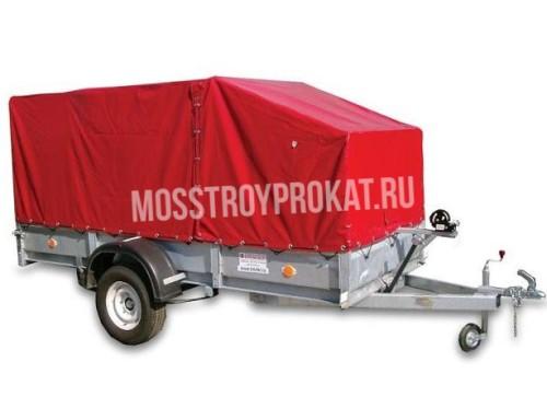 Прицеп одноосный трейлер 829450 (внутренний размер кузова 3,00 х 1,38 х 1,46 метра) в аренду и напрокат. Фото(1)