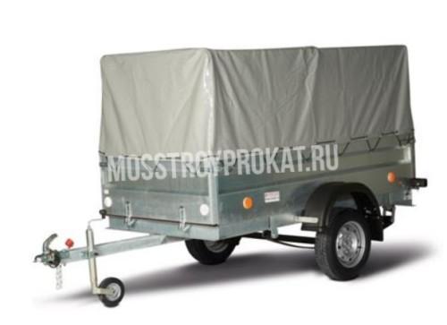 Прицеп одноосный трейлер 82942Т (внутренний размер кузова 2.37 х 1.14 х 1.0 метра) в аренду и напрокат - фото 1