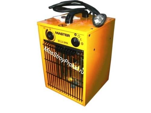 Электрический тепловентилятор (тепловая пушка) Master B 3.3 EPB (1.65-3.3 КвТ) в аренду и напрокат. Фото(1)