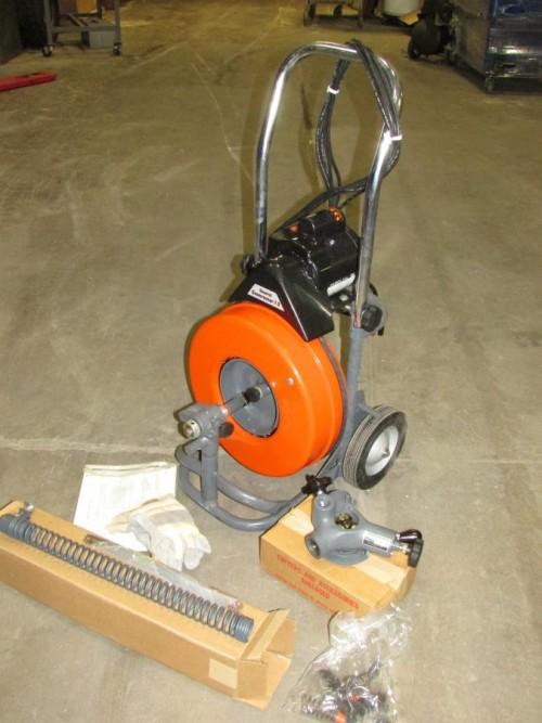 Установка Крот-Т3 для прочистки труб в аренду и напрокат  - фото 1