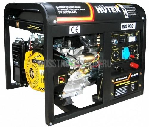 Бензиновый генератор Huter DY6500LXW в аренду и напрокат . Фото(1)