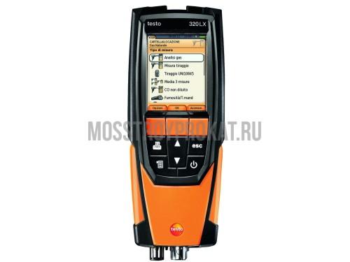 Комплект testo 320  с H2-компенсацией + Смарт-зонд testo 510i в аренду и напрокат . Фото(1)