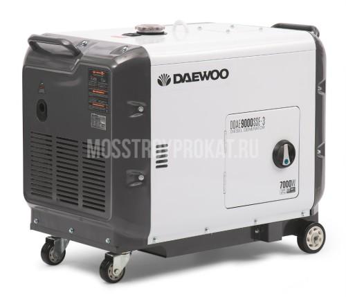 Дизельный генератор DAEWOO DDAE 9000SSE-3 в аренду и напрокат . Фото(1)
