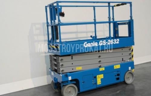 Аренда ножничного электрического подъемника Genie GS-2632 в аренду и напрокат  - фото 1