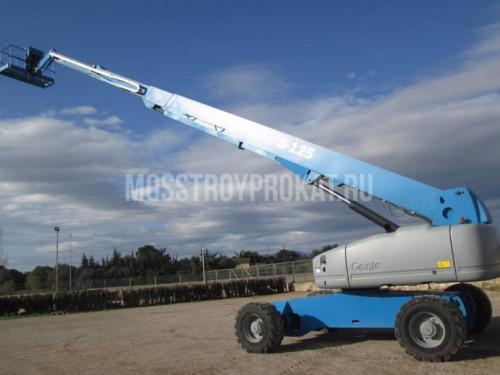 Аренда телескопического дизельного подъемника Genie S 125 в аренду и напрокат . Фото(1)