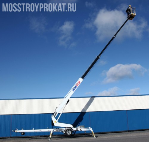 Аренда прицепного телескопического подъемника Dino 230 T в аренду и напрокат  - фото 1