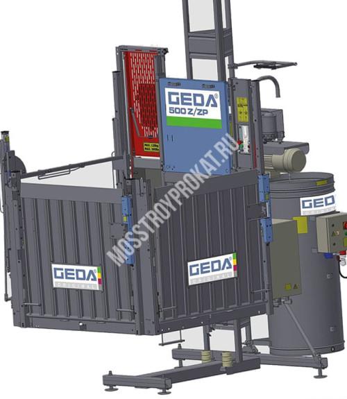Аренда мачтового грузового подъемника Geda 500Z/ZP в аренду и напрокат  - фото 1