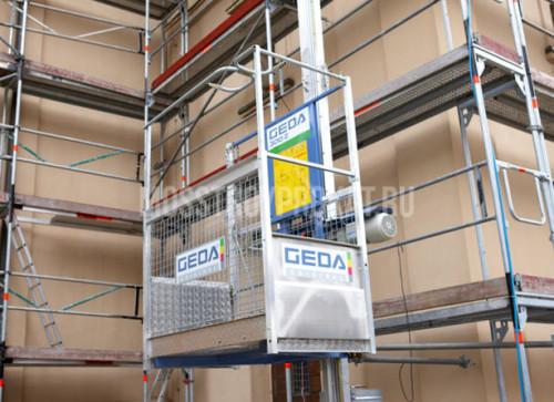 Аренда мачтового грузового подъемника Geda 300Z в аренду и напрокат  - фото 1